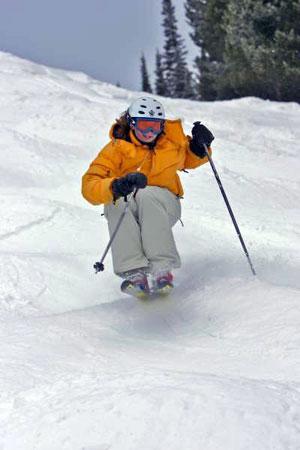 bump skiing